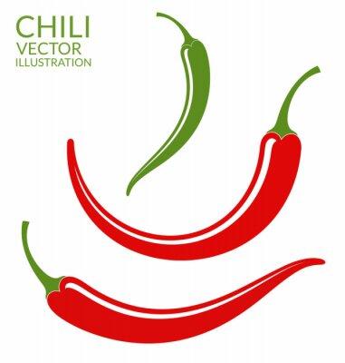 Sticker Chili-Pfeffer