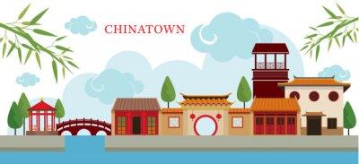 Chinatown Bauwerk, Reise, Kleinstadt, Traditionelle Kultur