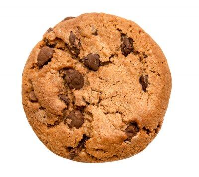 Sticker chocolate chip cookie