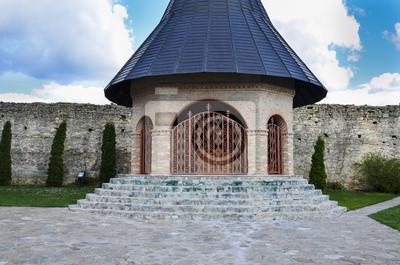 Christian orthodoxen Kloster in Iasi Rumänien, Hadambu, Detail