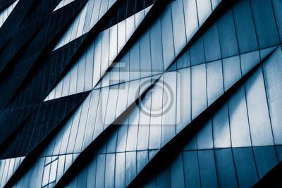 Sticker Close-Up Der Moderne Bürogebäude, Shanghai, China.