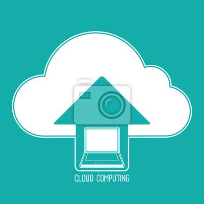 Cloud Computing-Symbol