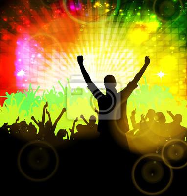Clubbing. Tanzende Menschen