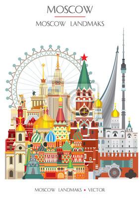 Colorful Moscow landmark 13