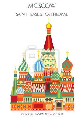 Colorful Moscow landmark 2