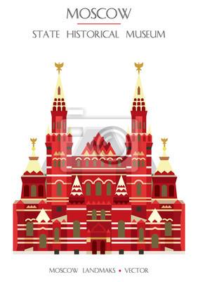 Colorful Moscow landmark 3