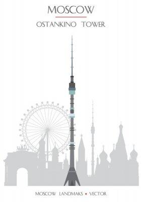 Colorful Moscow landmark 7