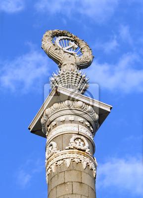 Column Dekoration Paron-Brücke