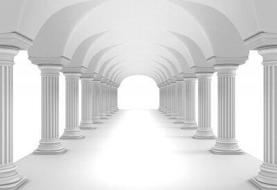 Sticker Column Tunnel