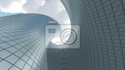 Sticker Contemporary Architecture