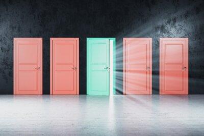 Creative color doors to success