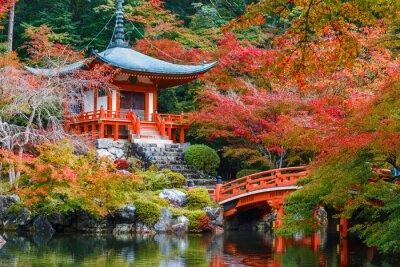 Sticker Daigoji Temple in Kyoto