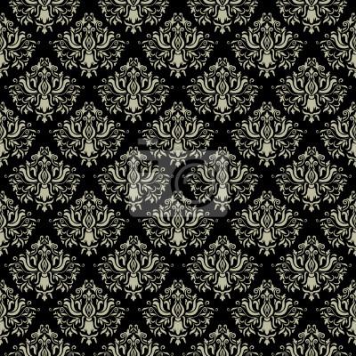 Damaris nahtlose Muster. Vektor-Hintergrund