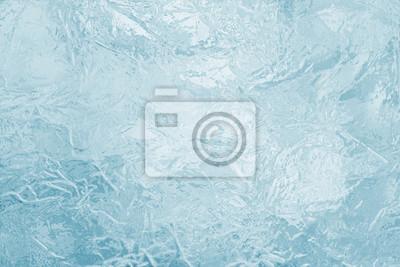 Sticker Dargestellt gefrorene Eis Textur