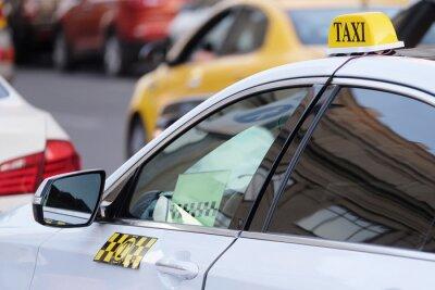 Sticker Das Bild des Taxis
