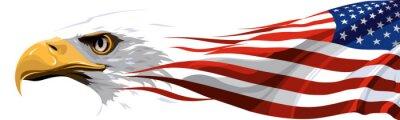 Sticker Das nationale Symbol der USA