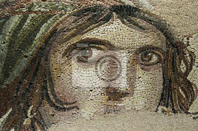 Sticker Das Zigeunermädchen (GAIA) Ancient Mosaic