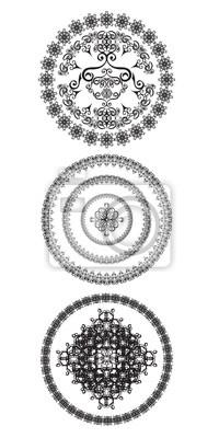 Dekorative Kreise