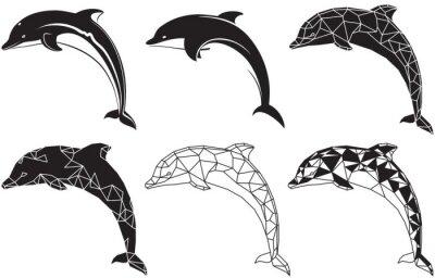 Sticker Delfine