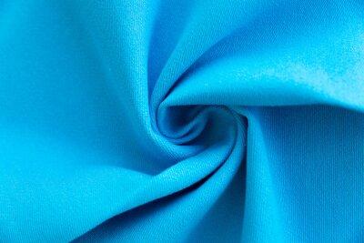 Sticker Dense light blue fabric coiled texture