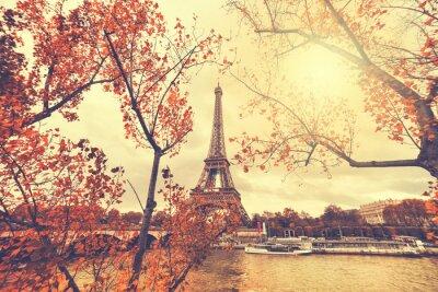 Sticker Der Eiffelturm in Paris