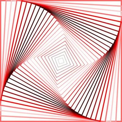 Sticker Design Bunte Strudel Bewegung Illusion Hintergrund