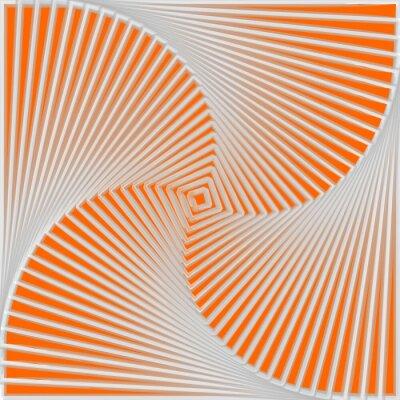 Sticker Design bunte Wirbel Bewegung Illusion Hintergrund