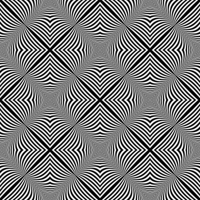 Sticker Design nahtlose monochromen Hintergrund Illusion