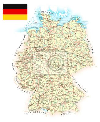 Deutschland karte linien Ley Lines