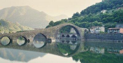 Sticker Devils Bridge Italien