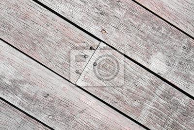 Diagoanl / Schräg gestreiftes Holz
