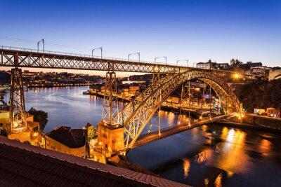 Sticker Die Dom Luis Brücke