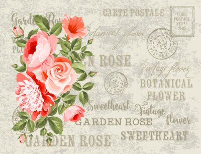 Sticker Die Hochzeitskarte.