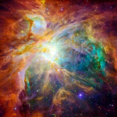Sticker Die kosmische Wolke namens Orion-Nebel