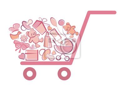Die Waren für Mädchen in den Warenkorb