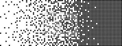 Sticker Disintegration, Dispersed background