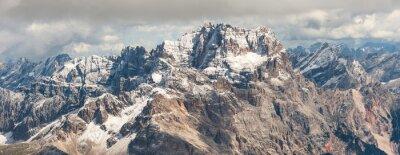 Sticker Dolomiten Berg