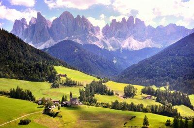 Dolomiten, Südtirol. Schönheit Welt.