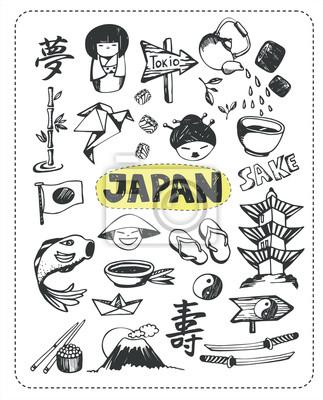 Doodle Set von Japan.
