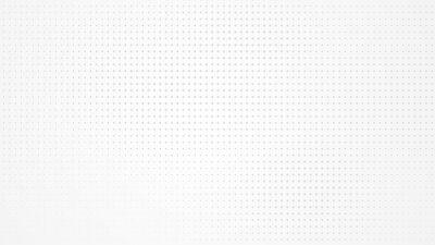 Sticker Dot white gray pattern gradient light texture background. Abstract  technology big data digital background. 3d rendering.