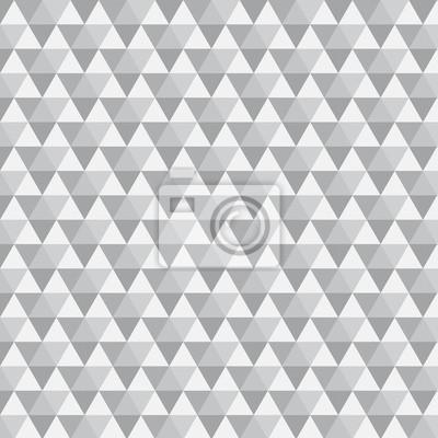 Dreieck-Muster mit grauer Farbe
