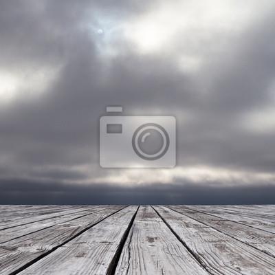 düsteren Himmel