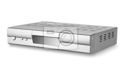 DVD-Player mit Tuner isoliert