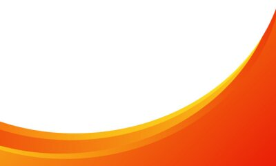Sticker dynamic orange background gradient, abstract creative scratch digital background, modern landing page concept vector, with line and circle shape.