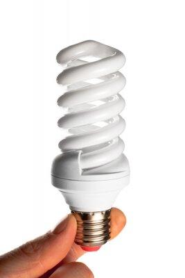 Effiziente Compact Fluorescent Light Bulb