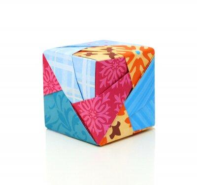 Ein Papierkuchenkastenkonzept