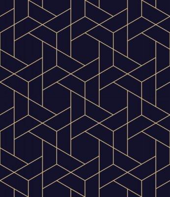 Sticker einfache nahtlose geometrische Rastervektormuster