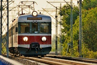 Sticker Eisenbahnverkehr