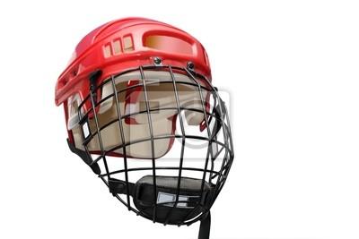 Sticker Eishockey Helm