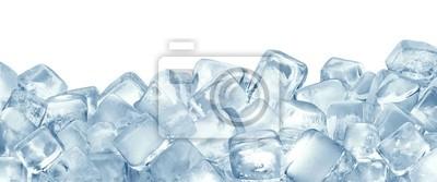 Sticker Eiswürfel